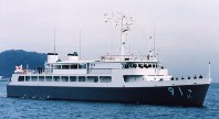 特務艇91「はしだて」=海上自衛隊提供