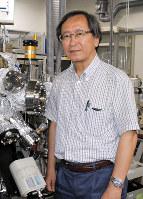 「これからも物質の新しい機能を研究していきたい」と語る十倉好紀さん=埼玉県和光市の理化学研究所で