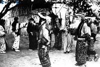 アイヌ日食祭=1936(昭和11)年6月撮影