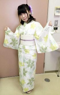 松来未祐さん=2014年撮影、イベント実行委提供