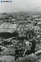 【長崎】長崎市内の城山地区=1945(昭和20)年8月下旬~9月中旬