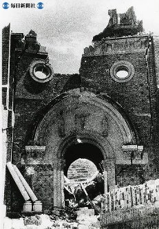 【長崎】浦上天主堂=1945(昭和20)年9月上~中旬