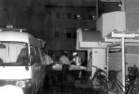 【松本サリン事件】松本市北深志の住宅街でサリンがまかれ7人死亡、52人が入院。その後、オウム真理教幹部らの犯行と判明=1994年6月27日撮影
