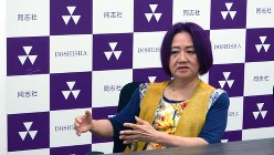 浜矩子・同志社大学大学院ビジネス研究科教授=2016年9月15日、山口敦雄撮影