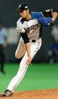 オールスターゲームに高卒ルーキーで出場した大谷翔平。最速157キロを記録した=札幌ドームで2013年7月19日、貝塚太一撮影