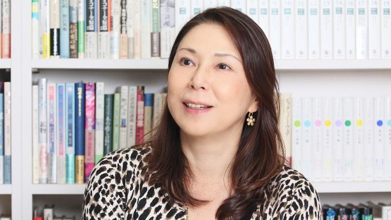 桐野夏生さん=2011年12月、藤原亜希撮影