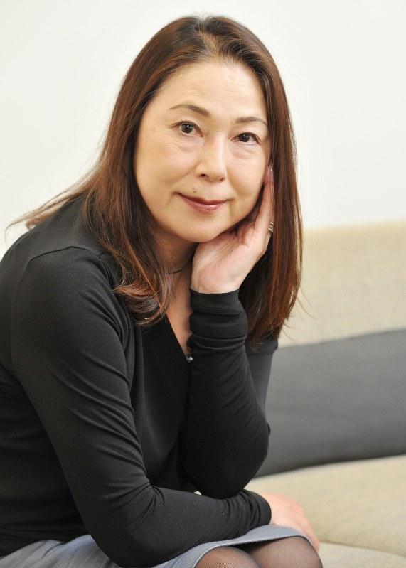 桐野夏生さん=2014年10月、内藤絵美撮影