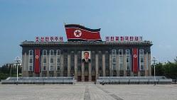 北朝鮮・平壌にある金日成広場