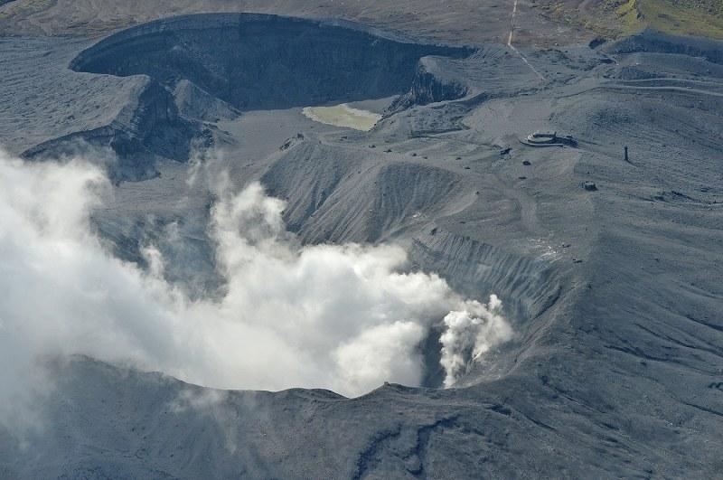 阿蘇山噴火:気象庁「同じ規模、...