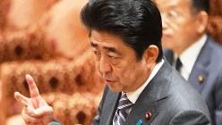 安倍晋三首相=2016年10月18日、川田雅浩撮影