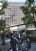 聖路加国際病院=東京都中央区で2016年10月27日午前9時56分、丸山博撮影