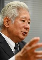 衆院憲法審査会の森英介会長=川田雅浩撮影