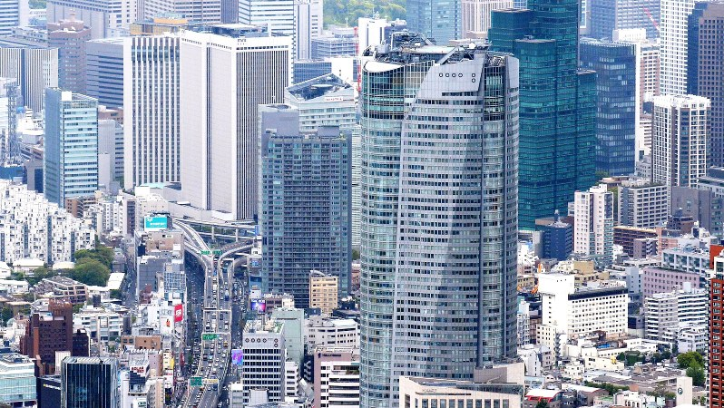 東京・六本木の街並み