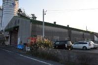 不法残留の中国人らが働いていた島原市の工場跡