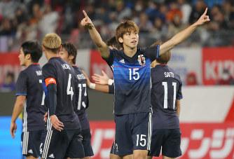 日本代表 ゴール オマーン