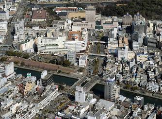 徳島市:中心市街地 「ホール、2...