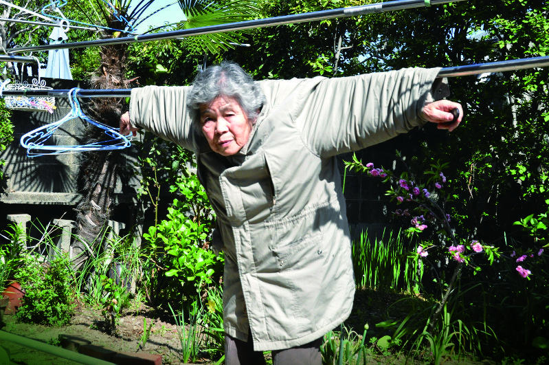 Photographer in her 80s a global hit with eccentric selfies