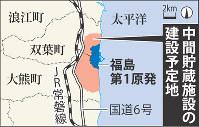 中間貯蔵施設の建設予定地