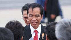 インドネシアのジョコ大統領=2016年5月26日(代表撮影)