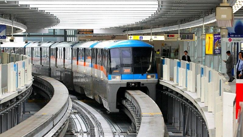 東京モノレールの羽田空港国際線ビル駅