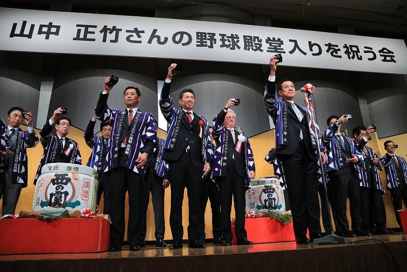【朗報】金本の殿堂入り祝う会、ひっそりと開催 : …