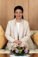 Crown Princess Masako is pictured at Togu Palace on the occasion of her 53rd birthday. (Photo courtesy of the Imperial Household Agency)