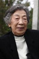 八牧美喜子さん 87歳=「原町特攻の花」(10月5日死去)
