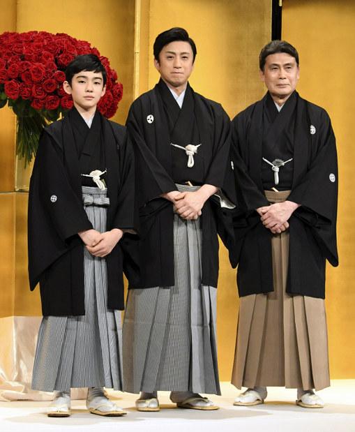 3 generations of korai ya kabuki family to succeed predecessors