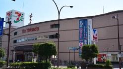 2017年2月をめどに閉店となるイトーヨーカドー岡山店=2016年7月20日、久木田照子撮影