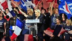 フランスのマリーヌ・ルペン国民戦線党首