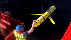 中国に奪われた無人潜水探査機の同種機=米国防総省提供
