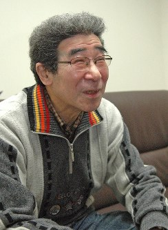 井上竜夫さん=大阪市中央区で、2009年1月14日午後7時、幸長由子撮影