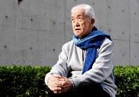 永六輔さん=東京都港区で2008年12月19日、内藤絵美撮影