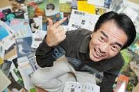 江戸家猫八さん=東京都目黒区で2009年12月3日午後0時53分、内藤絵美撮影