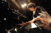 中村紘子さん=大阪市北区のザ・シンフォニーホールで2009年9月21日、宮間俊樹撮影
