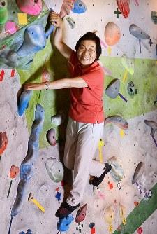 田部井淳子さん=東京都文京区で2013年6月18日、手塚耕一郎撮影