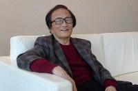 冨田勲さん=2013年2月5日、川崎浩撮影
