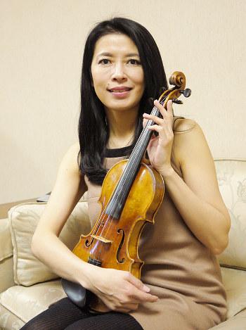 川井郁子:「さまざまな愛 表現」 大阪でコンサート - 毎日新聞