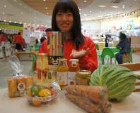 物産展ではさまざまな福島の味が楽しめた
