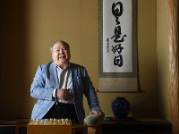 棋士の加藤一二三さん=東京都渋谷区の東京将棋会館で2015年5月13日、竹内幹撮影