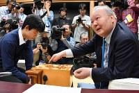 第40期名人戦七番勝負 加藤一二三 将棋棋士