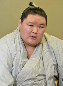 Sumo wrestler Goeido (Mainichi)