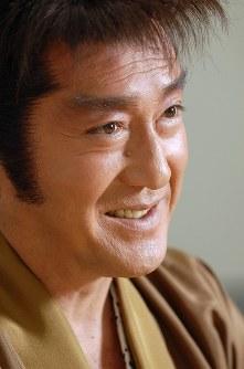 時代劇への思いを語る俳優の松方弘樹さん=東京・六本木のテレビ朝日で2007年7月17日、丸山博撮影