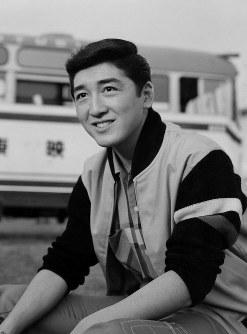 俳優の松方弘樹さん=1964年撮影