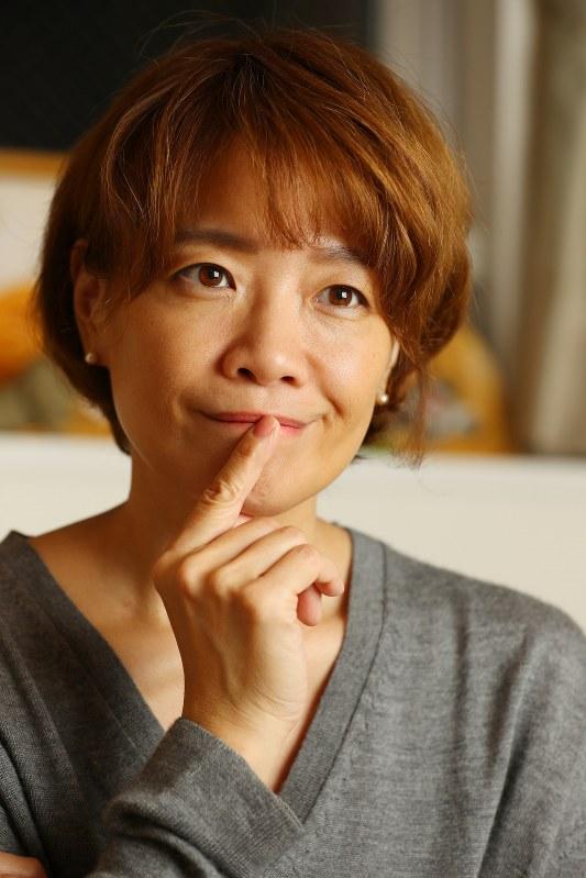 ヤマザキマリさん=小川昌宏撮影