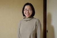 写真を撮影した和田芽衣さん=埼玉県飯能市で2017年1月21日、蒔田備憲撮影
