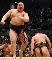 【68代】朝青龍明徳=大阪府立体育会館で2008年3月23日、幾島健太郎撮影