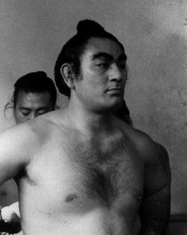 【46代】朝潮太郎=1960年1月15日撮影