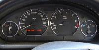 エンジンをかけると、正常であれば警告灯は消える=米田堅持撮影