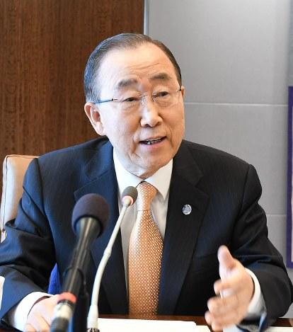 韓国:潘前国連事務総長が日韓合...